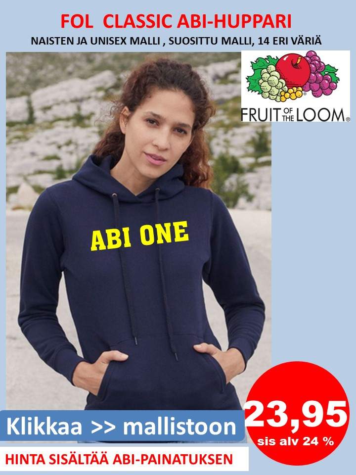 Abi-huppari CLASSIC Fruit of Loom